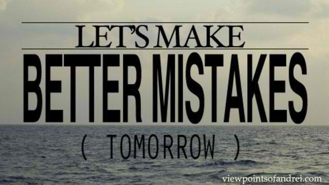 mistakes copy